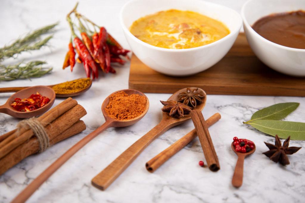 スープカレーの素を独自開発